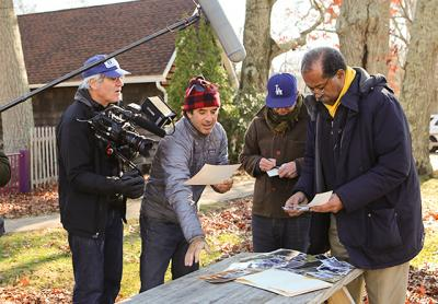 Dr. Bob North of New York City and Sag Harbor, who oversaw the Bridgehampton Child Care Center in the 1970s, helped the Cummings brothers trace the center's history for their documentary film on the Killer Bees. Photo by Hilary McHone