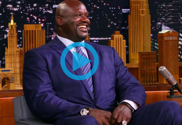 Shaq on Tonight Show talking Killer Bees with Jimmy Fallon